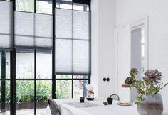 Vouwgordijnen in kortenaken van pvw interiors