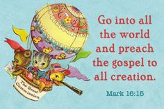 The Great Commission free Christian Message Card copy