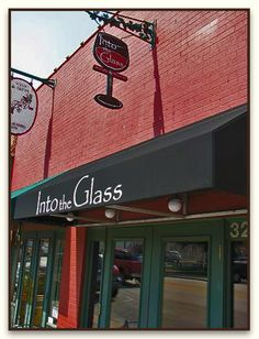 Into the Glass - Grapevine- My favorite lunch spot! -CB