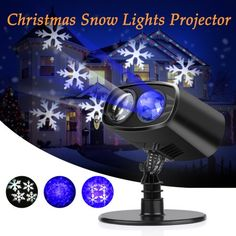 lighting lens projector detail lights led christmas light snowflake product projection ul