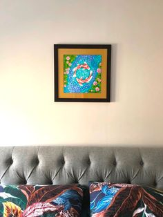 Thank you to the buyer who bought my original painting and sent me a lovely photo of it framed in their home. Koi Painting, Painting Process, Feng Shui Koi Fish, Feng Shui Art, Original Paintings, Original Art, Art Articles, Small Canvas, Fish Print