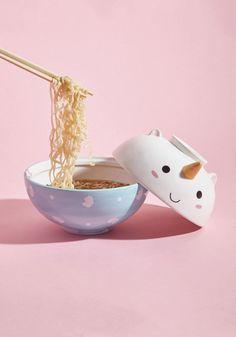 Unicorn Ramen Bowl Set Follow @ pin addict