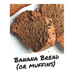 The thing I love about this recipe is how versatile it is. You can simply bake it in a loaf pan and BAM! - you got some good banana bread! Or you can make 12 delicious vegan banana muffins. Vegan Banana Muffins, Best Banana Bread, Vegan Blogs, Vegan Recipes, Loaf Pan, Baking, Desserts, Food, Tailgate Desserts