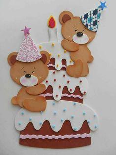 Tanterem Dogs shih tzu puppies for sale Foam Crafts, Diy And Crafts, Crafts For Kids, Paper Crafts, Birthday Scrapbook, Baby Scrapbook, Teddy Bear Birthday, Birthday Charts, Ideas Para Fiestas