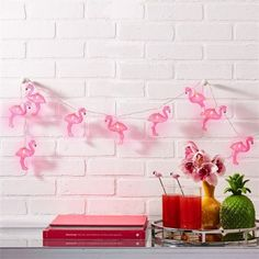 willway Flamingo String Lights, Battery Operated Flamingo Fairy Lights for Garden Patio Bedroom Wedding Party Christmas Decoration Flamingo Lights, Flamingo Decor, Pink Flamingos, Flamingo Party, String Lights In The Bedroom, Led String Lights, Light String, Christmas Lights, Christmas Decorations