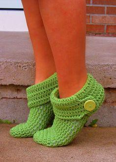 Crochet Gypsy Slippers