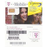T-Mobile (TMobile T Mobile) Micro SIM Card (CUT TO SIZE) for iPhone 4 w/Prepaid Activation Kit & .34 (10 Minutes) FREE