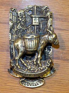 Donkey Door Knocker I Antique Door Knockers, Door Knobs And Knockers, Knobs And Handles, Door Handles, Cool Doors, Unique Doors, Door Fittings, Door Accessories, Door Furniture