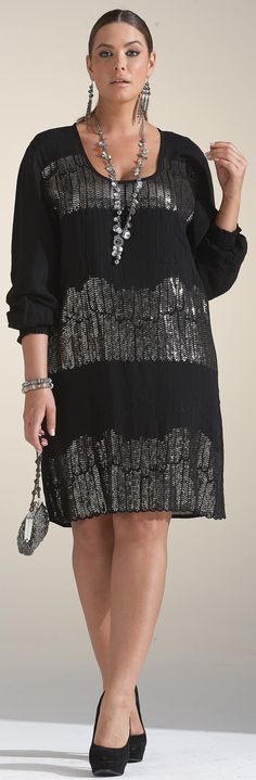 Emme Gatsby Feather Dress $52.04