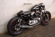 harley cafe racer pretty