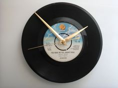 "Sylvester- you make me feel mighty real     7"" vinyl record clock  £7.99"
