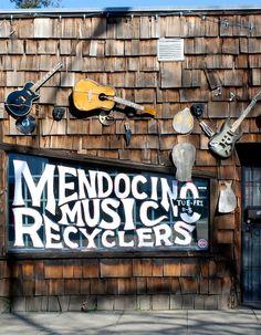 Mendocino Music Recyclers Ukiah, California Zippertravel.com Digital Edition