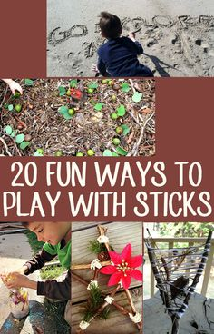 20 fun ways to play with the simplest of 'toys.'