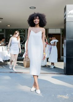 """Shereen Mohammed decided on her outfit by taking photos and having a friend pick it out. """"I just like how real Solange is,"""" she said."""