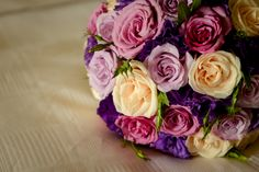 The #purple is now! perfect combination for your #Wedding #Bouquet   #VelasResorts