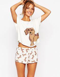 SAUSAGE DOG PYJAMAS... I reckon they were made for me!