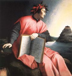 Allegorical Portrait of Dante Agnolo Bronzino (Italian, Oil on wood. National Gallery of Art, Washington. // The book Dante holds is a copy of the Divine Comedy, open to Canto XXV of the Paradiso. Dante Alighieri, Framed Art Prints, Painting Prints, Canvas Prints, Jean Fouquet, Hieronymus Bosch, National Gallery Of Art, Camille Pissarro, Renaissance Art