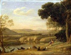 Pastoral Landscape - (Claude Lorrain)
