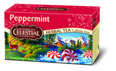 A classic mint tea with the very finest peppermint. #HotTeaMonth #CelestialHerbalTea http://www.celestialseasonings.com/products/herbal-teas/peppermint