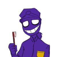 Five Nights at Freddy's purple guy