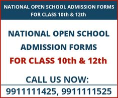 Admission Form School Mesmerizing Open School Admission Class 10Th For 201819  School Admissions And .