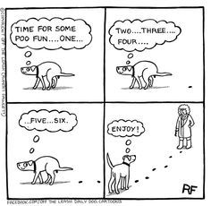 Fun In The Park - Off The Leash Dog Cartoons by Rupert Fawcett