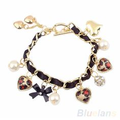 Vintage Leopard Bracelet