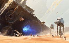 Star Wars: Battlefront teases the wreckage of The Battle of Jakku   EW.com