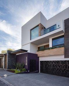 Facade: style houses by urbn Facade Design, Exterior Design, Residential Architecture, Interior Architecture, Facade House, Modern Exterior, Modern House Design, Home Fashion, Building A House
