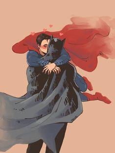 Batman Álbum (Yaoi) - SuperBat: Batman x Superman - Page 2 - Wattpad Superman X Batman, Superman Man Of Steel, Gay Couple, Gotham, Dc Comics, Otp, Queer Art, Superbat, Loki Marvel