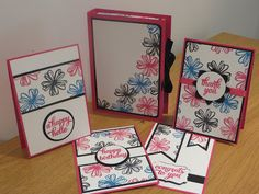 One sheet wonder card gift box tutorial using flower shop stamp set by stampin' up. Flower Box Gift, Flower Boxes, One Sheet Wonder, Card Tutorials, Homemade Cards, Stampin Up Cards, Making Ideas, Note Cards, Cardmaking