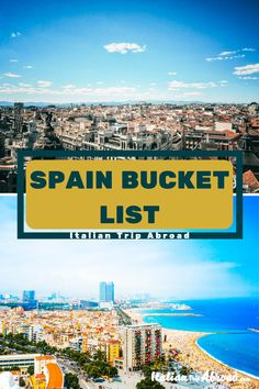 SPANISH BUCKET LIST | 40 + EXPERIENCES IN SPAIN 2