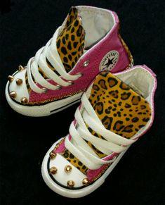 51d248542d63 Girls Custom Converse- Kids Converse- Bling Converse- Cheetah Print  Converse- Animal Print Converse- Zebra Print Converse-Pink Converse