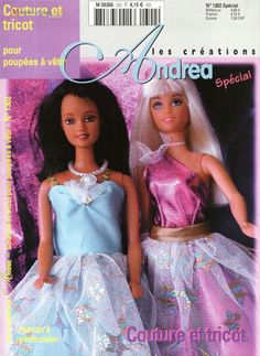 Herbie's Doll Sewing, Knitting & Crochet Pattern Collection: Barbie knitting patterns