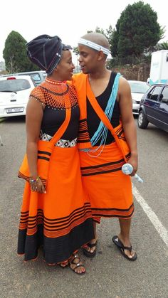 African Fashion Traditional, South African Fashion, Traditional Outfits, African Wedding Attire, African Attire, African Wear, African Lace Dresses, African Fashion Dresses, Xhosa Attire