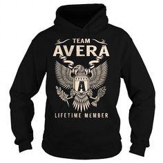 Team AVERA Lifetime Member - Last Name, Surname T-Shirt T-Shirts, Hoodies (39.99$ ===► CLICK BUY THIS SHIRT NOW!)