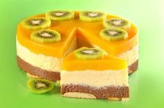 Torcik z kaszy manny 078 Largeok - Mňamky-Recepty. Köstliche Desserts, Delicious Desserts, Dessert Recipes, Cheesecake Pops, Quick Easy Desserts, Czech Recipes, Summer Cakes, Easy Cake Decorating, Almond Cakes