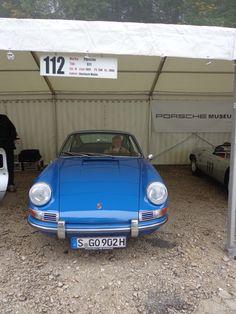 Eberhard Mahle auf Porsche 911 von 1966