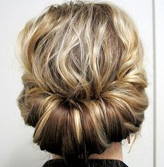 Medium+Curly+Updo+Hairstyle+With+A+Messy+Touch