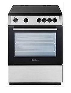 Blomberg BERU24200SS Electric Range with Ceramic Top, Non-Convection Oven, 24-Inch, Stainless Steel