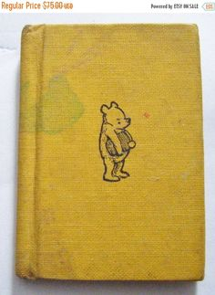 25% Off Storewide Sale Rare 1968 First Edition Pooh by parkledge