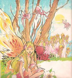"""María Pascual """"El castillo de los Elfos"""" Faeries, Fairy Tales, Sketches, Princess Zelda, Fantasy, Drawings, Painting, Fictional Characters, Scorpio"""