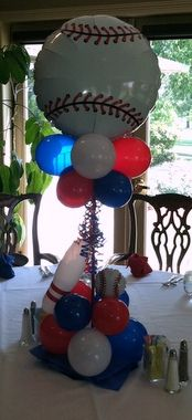 Fun Centerpiece.  But do you really need a centerpiece for an 8 yr old??  To be decided later...