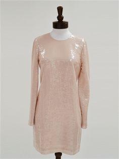 Diane von Furstenberg Menaro Sequined Dress. As seen on Jessica Alba. www.newchicboutique.com