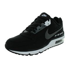 bbacbe1a8b16 Nike Men s Air Max LTD 3  Dark Grey White Running Shoe Nike Kicks