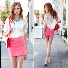 Check out Sweet Touch of Candy Pink Look by OVI  and Must Have at DailyLook