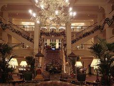 #Disneyland Paris. The lobby of the Disneyland Hotel #DLRP DLP #Disney DLH