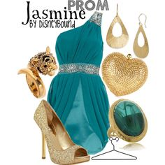 I love this collection by DisneyBound inspired by Jasmine the princess from Aladdin.