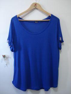 Camiseta Listras - Alícia Moda para mulheres reais  https://www.facebook.com/alicia.pintassilgo