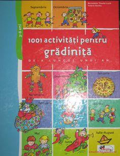1001 activități pentru grădiniță de-a lungul unui an   ursuleți năzdrăvani